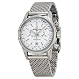 Breitling Men's BTA4131063-G757SS Transocean Analog Display Swiss Automatic Silver Watch