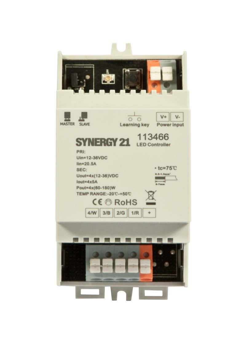 Synergy 21 LED Controller EOS 05 RGB-W WLAN Controller Slave