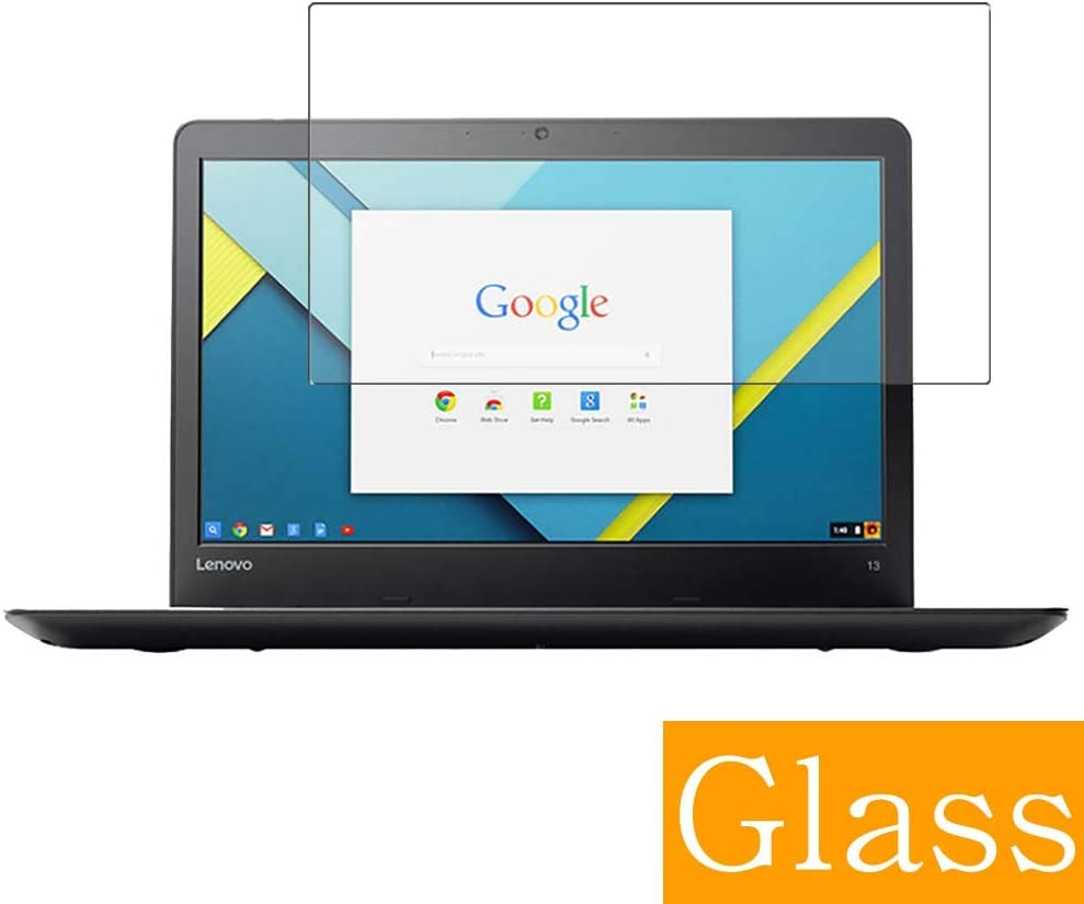 """Synvy Tempered Glass Screen Protector for Lenovo Thinkpad 13 Chromebook 13.3"""" Visible Area Protective Screen Film Protectors 9H Anti-Scratch Bubble Free"""