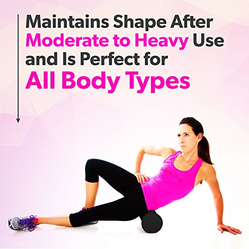 Product Stop, Inc Maintains Shape After Moderate to Heavy Use and Is Perfect for All Body Types. Pink Exercise Foam Roller with Trigger-Point Design - Massages, Soothes, Refreshes And Invigorates by Product Stop, Inc (Image #8)