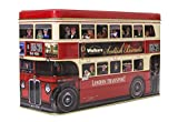 Walkers Shortbread, London Bus Tin Scottish Cookie Assortment...