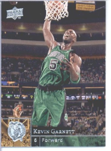 2009 /10 Upper Deck Basketball Card # 7 Kevin Garnett Celtics Mint Condition - Shipped in Protective ScrewDown Display Case!