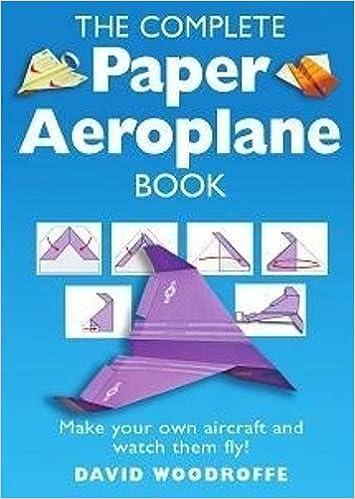 Swell The Complete Paper Aeroplane Book Amazon Co Uk David Woodroffe Wiring Digital Resources Kookcompassionincorg