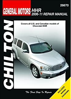general motors chevrolet hhr 2006 thru 2011 all models haynes chevrolet hhr chilton repair manual 2006 2011