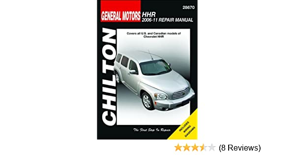 chevy hhr repair manual download