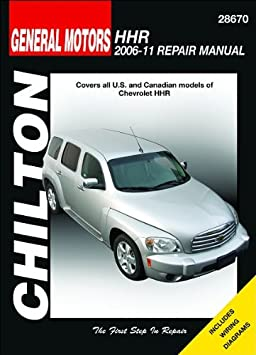amazon com chevrolet hhr chilton repair manual 2006 2011 automotive rh amazon com Alex Chilton Eve Chilton