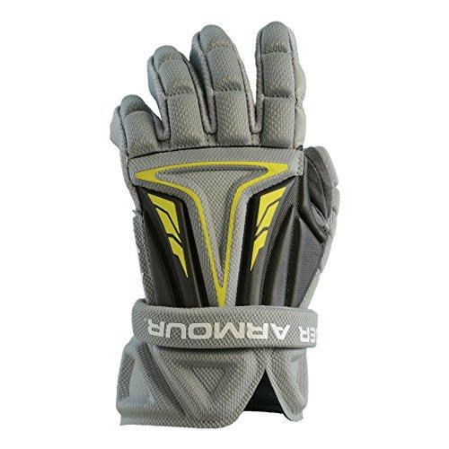 Under Armour NexGen Lacrosse Gloves-Gray-SM/10'