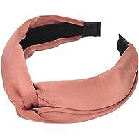Fashionshao Diseño Original Tela Silk Wild Knot Headband