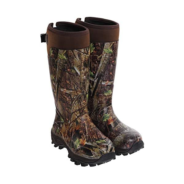 Hisea Hunting Boots for Men Waterproof Mens and Womens Rain Boots Neoprene  Rubber Insulated Shoes - Gear Up