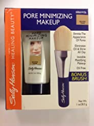 Sally Hansen Pore Minimizing Makeup Nude Tan With Bonus Brush