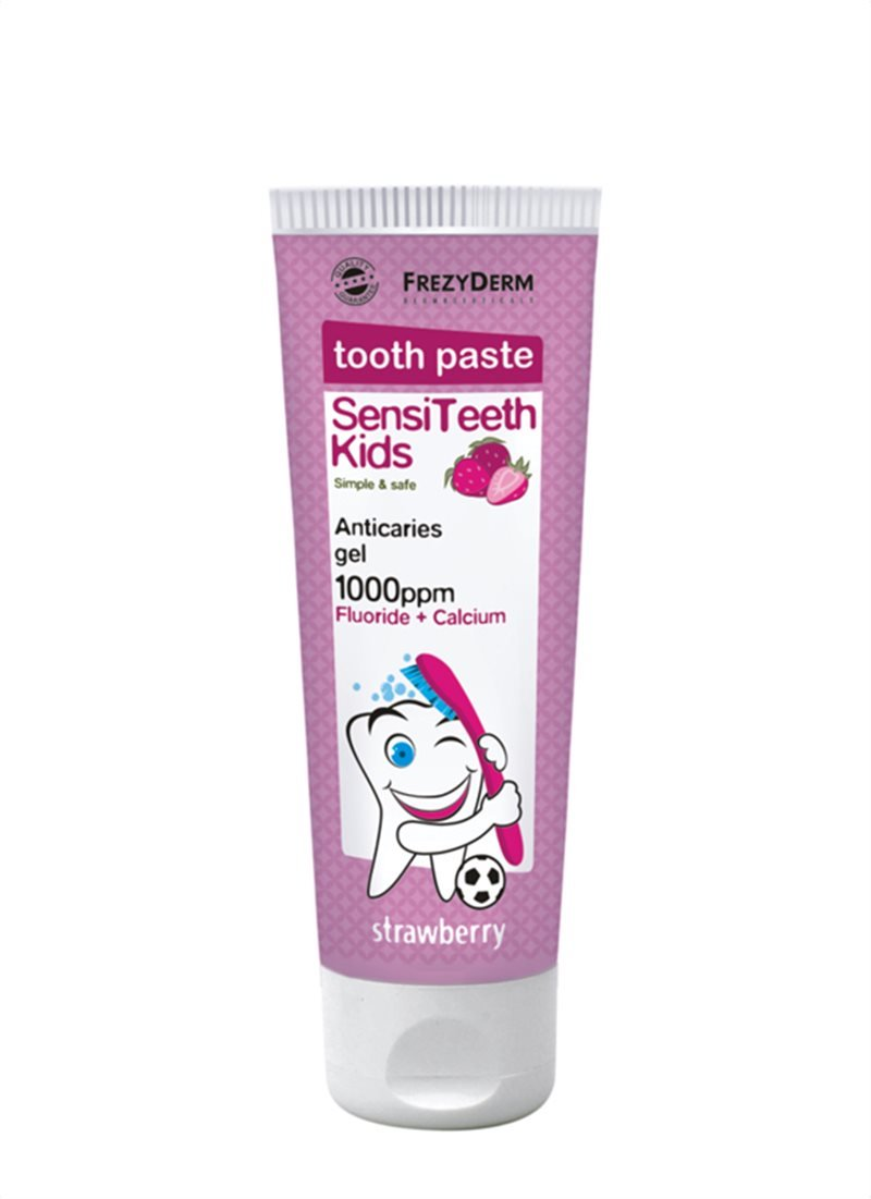 FREZYDERM SENSITEETH KIDS TOOTHPASTE 1.000ppm 50ml 423009