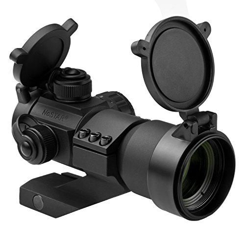 NcStar Tactical Red/Green/Blue Dot Sight with Cantilever Wea