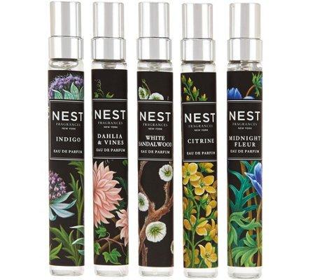 NEST Fragrances 5-piece Eau de Parfum Fragrance Collection If Sold Separately: $125.00