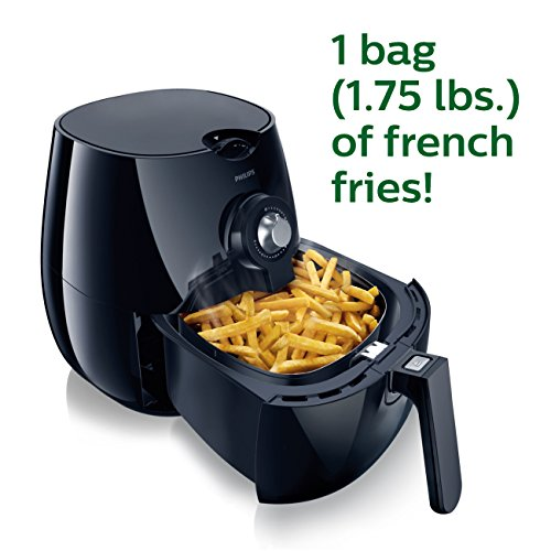 Philips Airfryer, The Original Airfryer, Fry Healthy with 75% Less Fat Black HD9220/26 by Philips (Image #3)