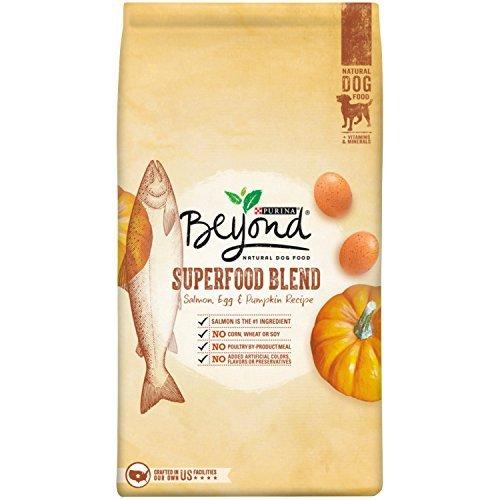 Purina Beyond Natural Dry Dog Food, Superfood Blend, Salm...
