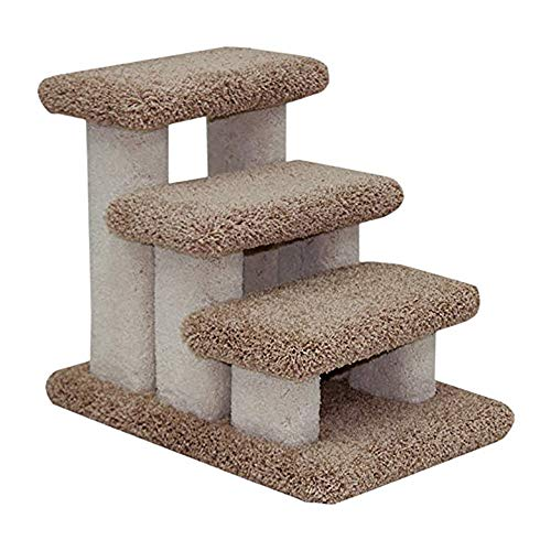 Beatrise Pet Products Doggie Carpeted Steps