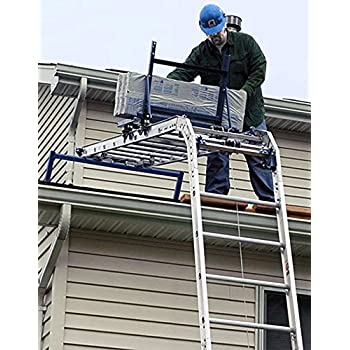 Roof Zone Hoisting Wheel With Long Handle Ladder