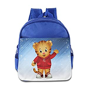 ELF STORY - Cartoon Cute Daniel Little Kid Baby Boys Girls Toddler Backpack Bag RoyalBlue
