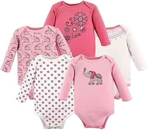 Hudson Baby Baby Boys' Long Sleeve Bodysuits