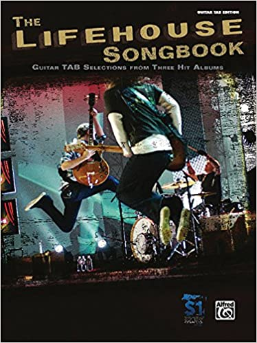 Amazon The Lifehouse Songbook Authentic Guitar Tab Guitar Tab