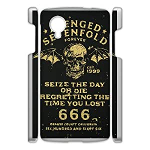 Classic theme pattern Avenged Sevenfold for Google Nexus 5 Phone Case KCCTPAS966104