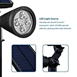 [Upgraded 200 Lumens]Led Solar Lights, Mpow Soleil P2 Waterproof Solar Spotlight / Solar Powered Outdoor Wall Light Landscape Lighting Security Lights 180°angle Adjustable, Auto On/Off for Garden, Outdoor, Lawn, Backyards, Outside Wall etc. Bild 3