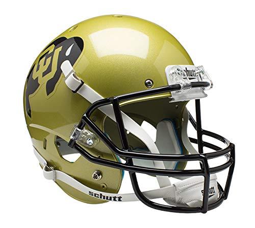 Display Football Case Buffalo (Schutt NCAA Colorado Buffaloes Replica XP Football Helmet, Classic)
