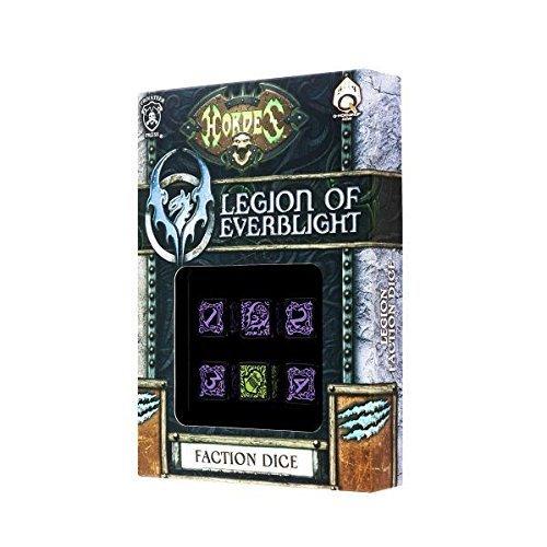 Hordes Legion of Everblight - Faction Dice (6 piece set) - Faction Dice