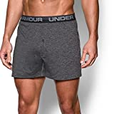 Under Armour Men's Original Series Twist Boxer Shorts, Steel/Steel, Large