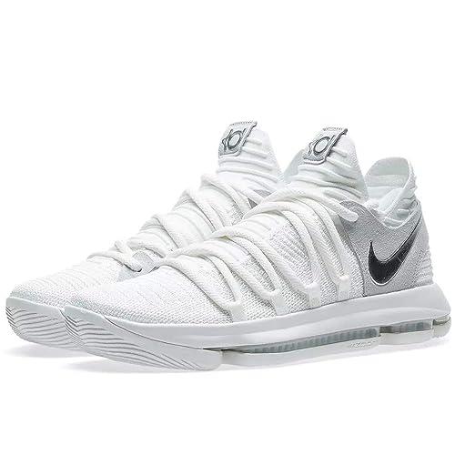 9a9ef0f38f6449 Tênis Nike Zoom Kd 10 Pure Platinum Chrome (42)  Amazon.com.br ...