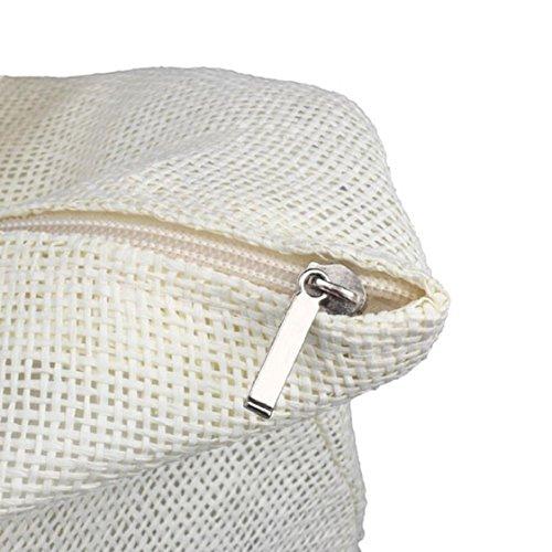 Couleur Femmes Bonbons Plage Paille Sac Casual sacs de de Grands Culater wCqPxaa7