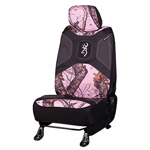 Mossy Oak Seat Covers (Browning Pink Camo Lowback Seat Cover - Mossy Oak Break Up Camo)