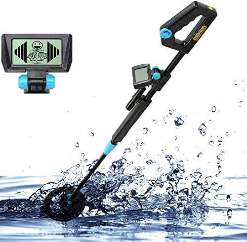 ALLOSUN TS20B Junior Metal Detector with Waterproof, Black