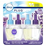 Febreze Plug In Air Freshener Scented Oil Refill, Mediterraenan Lavender, 2 Count (Packaging May Vary)