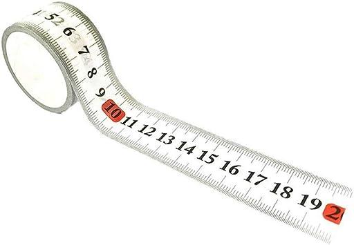 2 unidades] cinta adhesiva reposicionable para medir plantillas ...