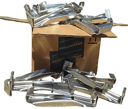 5 inch Premium Quick Screw Gutter Hanger with clip (50-Pack)