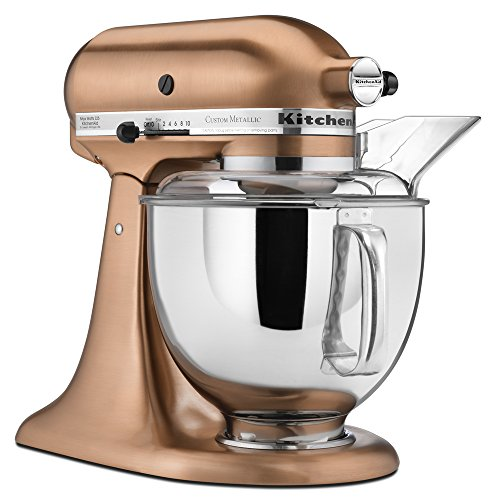 Superieur Amazon.com: KitchenAid KSM152PSCP 5 Qt. Custom Metallic Series With Pouring  Shield   Satin Copper: Electric Stand Mixers: Kitchen U0026 Dining