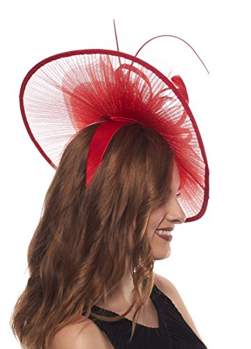 Fabulous Facinator Hat for Ladies (Red)