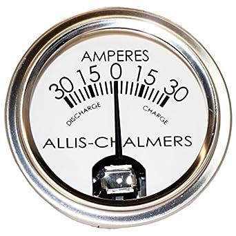Amazon com: DJS Tractor Parts / Allis Chalmers Amp Gauge -- Fits
