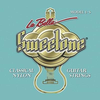Cuerdas para guitarra clásica española LA BELLA SWEETONE 1-S ...