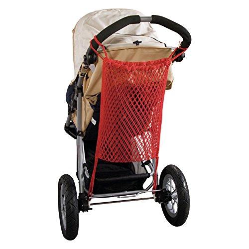 Sunnybaby 12268 Kinderwagen-Einkaufsnetz für Jogger - Farbe: ROT