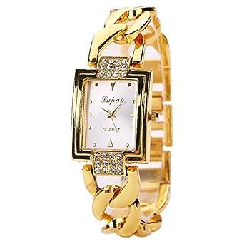 Yesmile Relojes❤️LVPAI Caliente Venta de Moda Mujeres de Lujo Relojes Pulsera Reloj de Mujer (F): Amazon.es: Ropa y accesorios
