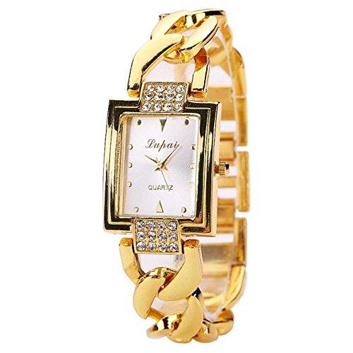 Yesmile Relojes❤️LVPAI Caliente Venta de Moda Mujeres de Lujo Relojes Pulsera Reloj de Mujer