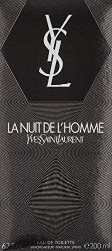 LA NUIT DE L'HOMME Yves Saint Laurent EDT SPR 6.7 oz / 200 ml
