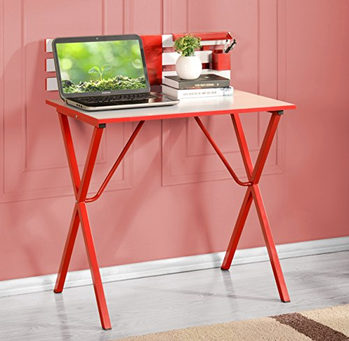 Kings Brand Furniture Kids Children's Computer Writing Desk, Red