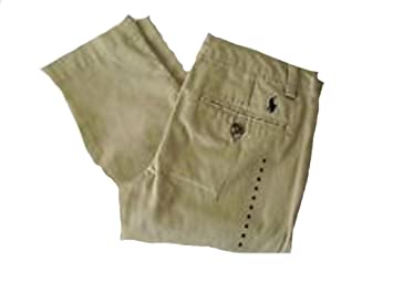 31c634789 Image Unavailable. Image not available for. Color: Ralph Lauren Polo Baby  Boys Boating Khaki Pants 12 months