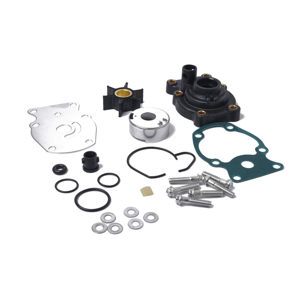 OmkuwlQ Water Pump Kit Impeller Repair Kit Replacement for Johnson Evinrude 20 25 30 35 hp 393630