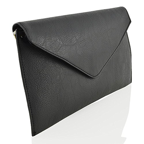Glam Leather Clutch - 4