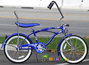 Amazoncom  Micargi Hero 20quot Boys Kids Low Rider Beach Cruiser Bicycle