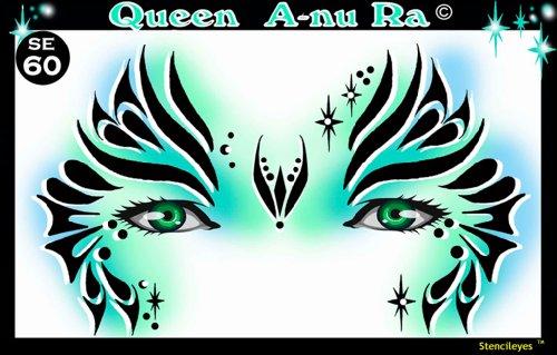 Show Offs Stencil Eyes Child Size (Queen A-nu Ra)